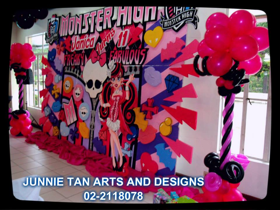 Monster High Birthday Party Invitations with best invitation design