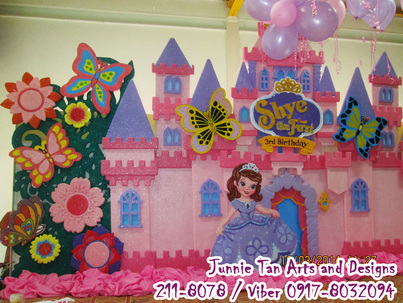 Sofia The First Junnie Tan Arts And Designs